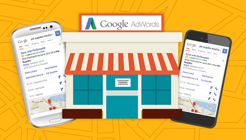 adwords store visits